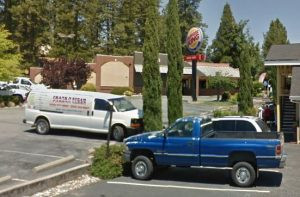 This is Burger King, which is famous for two things: 1) custom hamburgers 2) health violations.