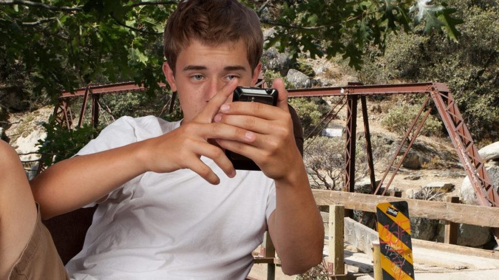 Teenager Kevin Thomas of Grass Valley needs to get cell service or he'll die.