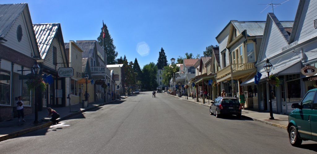 Nevada City, CA claims to be the Spiritual Vortex of planet Earth.