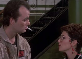 Ghostbusters clip, 1984
