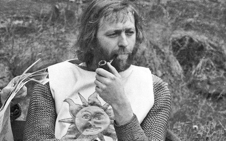 Graham Chapman, seen here alive as Arthur. King of the Britons, might be in Grass Valley, CA in ash form.