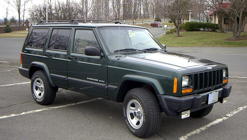 Ms. David's 1999 Forest Green Jeep Cherokee Sport