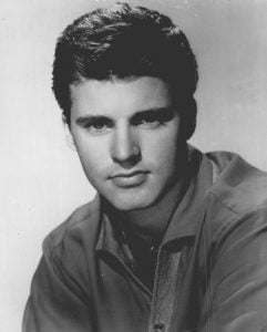 Ricky Nelson in a publicity shot from Decca Record