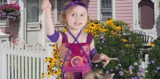 "Samantha Dogglin of Truckee, CA named her new kitten ""Parvo."""