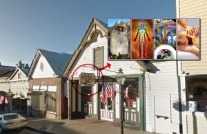 The vacant Cirino's building on Broad Street in Nevada City, CA is happy to be filled with Sedona, AZ energy