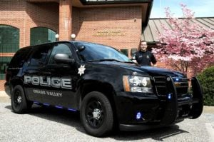 The Police Department hopes the new black patrol cars will scare citizens into behaving. Stolen Source: John Hart/jhart@theunion.com