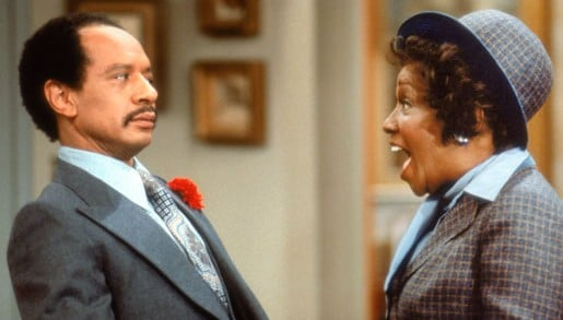 George and Louise Jefferson shown here in a file photo.