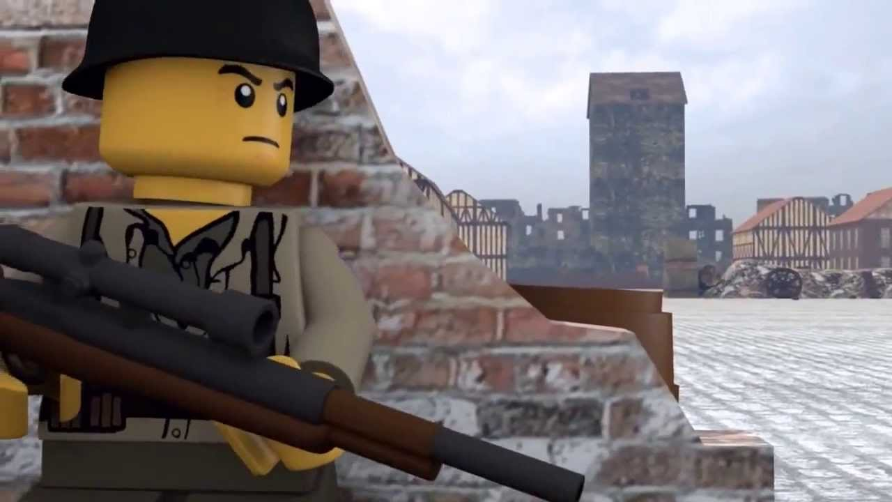 """upcoming Warner Brothers feature film """"Lego Sniper"""""""