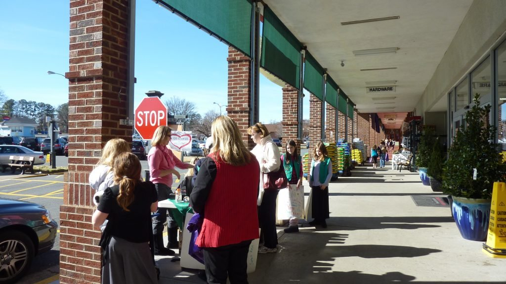 "Local Girl Scouts will be selling ""awareness cookies"" out in front of area grocery stores."