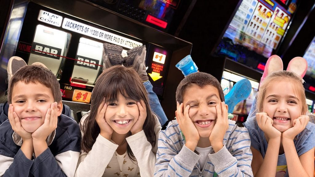 It is important to train young children how to work within the constraints of their future gambling addictions, say arcade owners.