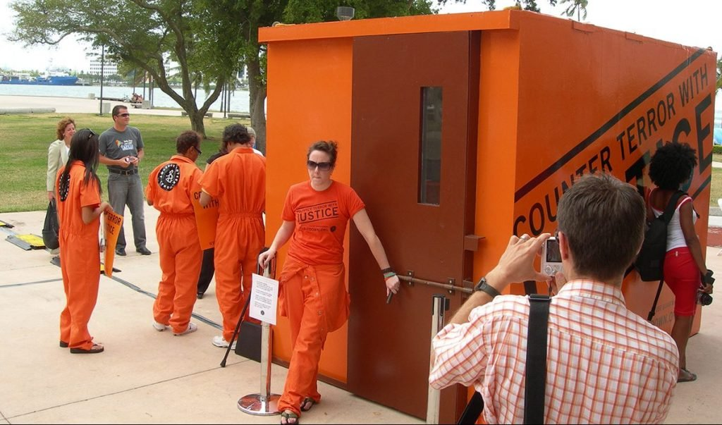 """Planned """"Gitmo"""" Attraction at theme park."""