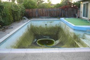 A local activist is calling for an emergency ordinance to drain all backyard pools in Nevada County.