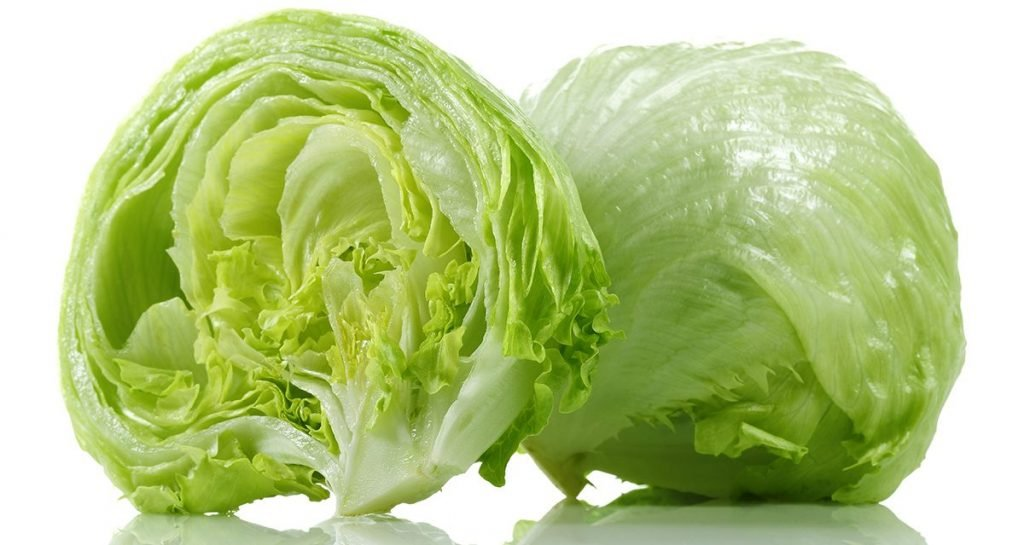 This is iceberg lettuce. It is delicious and nothing to be afraid of.