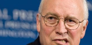 Everyone is afraid of Dick Cheney, including former President George Bush.