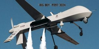 """""""BIG Boy"""" PD97-3034 Chemtrail Drone. Source: US Military."""