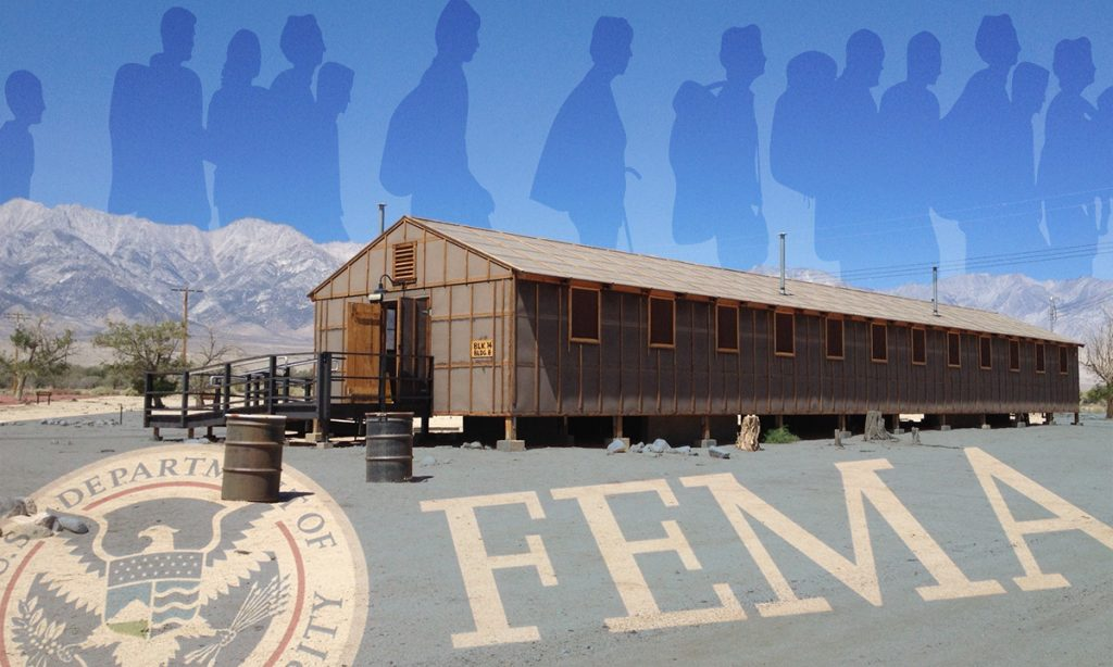 Don't search for FEMA camps unless you want to end up in one.