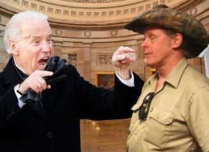 Vice President Biden would not leave Ted Nugent alone.