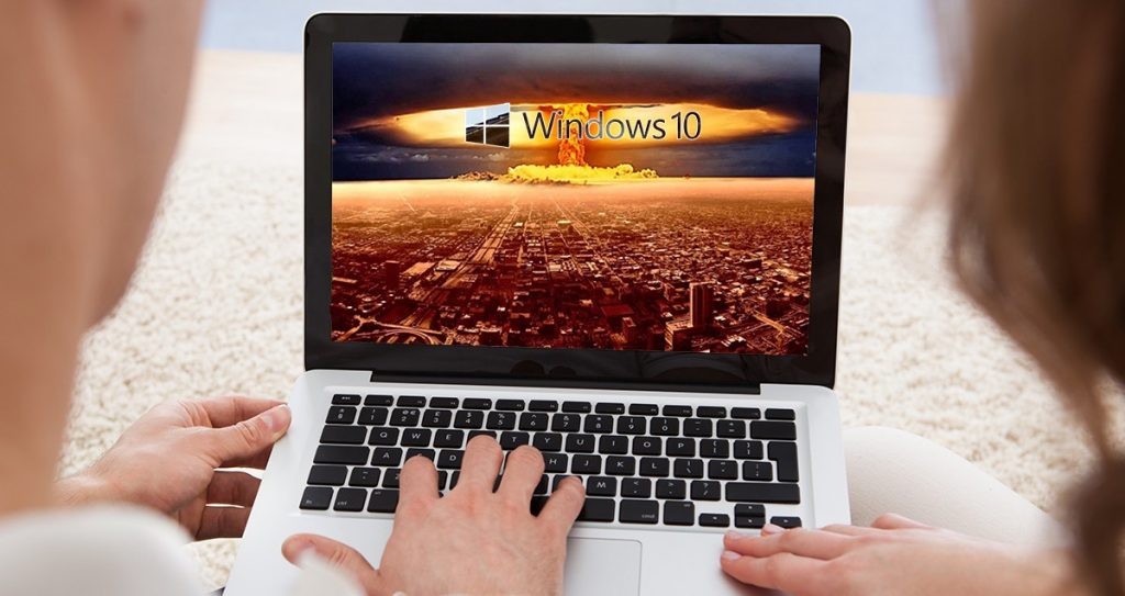 "installing the ""no-cost"" Windows 10 upgrade might lead to your demise."