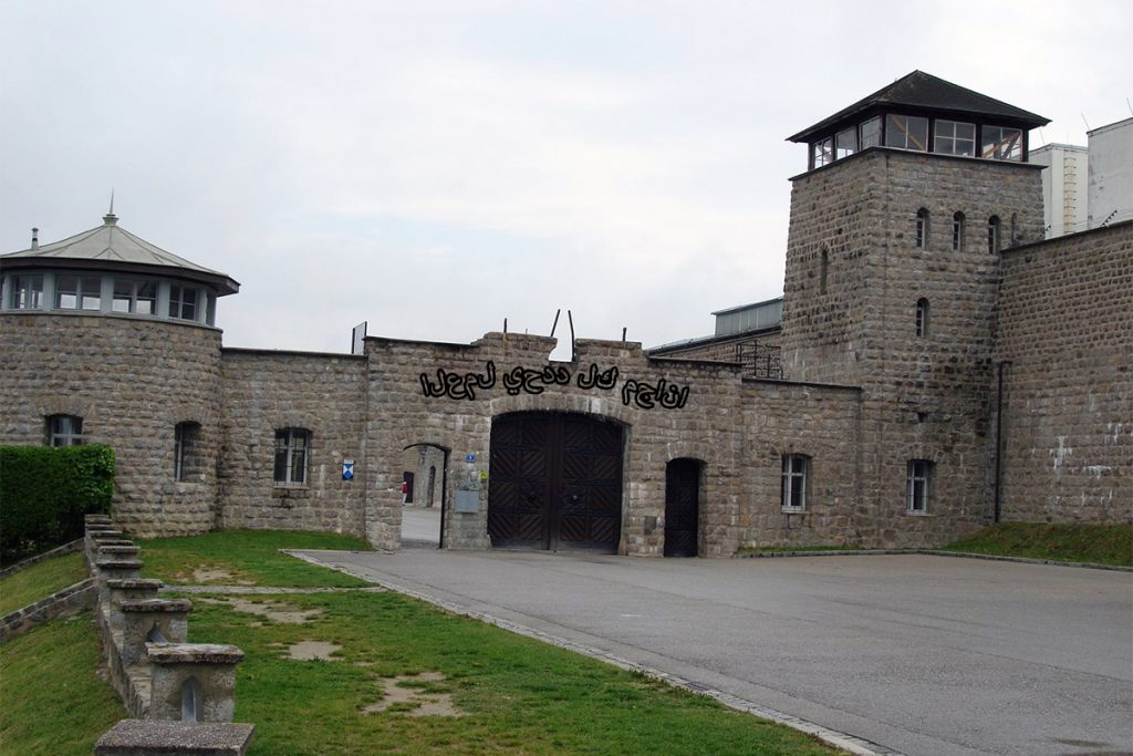 Mauthausen-Gusen camp which will be converted for refugees.