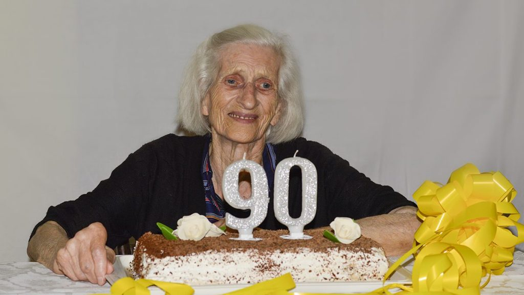 Beatrice Scarpelli is not looking forward to her next birthday.
