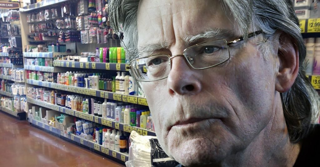 Famous author Stephen King spotted in local Grocery Outlet