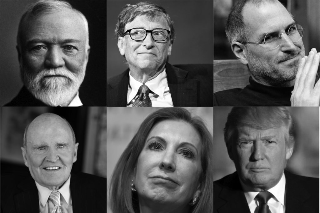 Various rich assholes you love who want you to buy their crap.