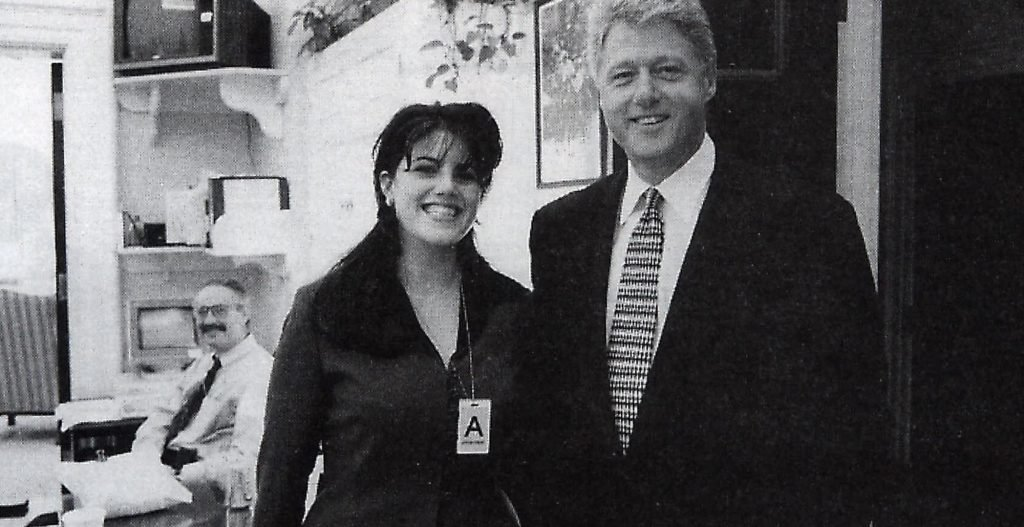 President Bill Clinton declared that his oral encounters with Ms. Lewinsky were not sex acts (AP Photo/OIC)