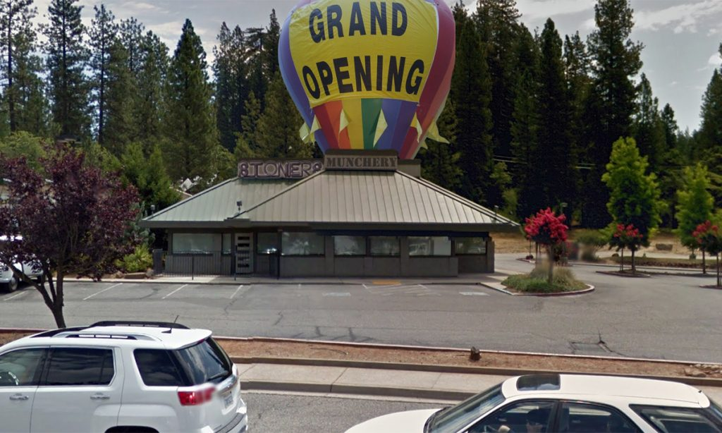 The first Stoners Munchery to open in Grass Valley, CA in January 2016.