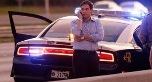 Mr. Rubio were transported to a local hospital with numerous bruises and contusions