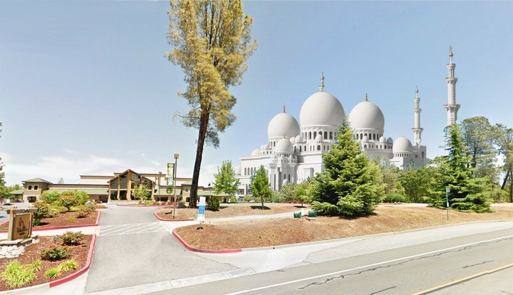 The new Mosque will be situated next to the Twin Cities Christian Church on the Rough and Ready Highway just outside the Grass Valley city limits