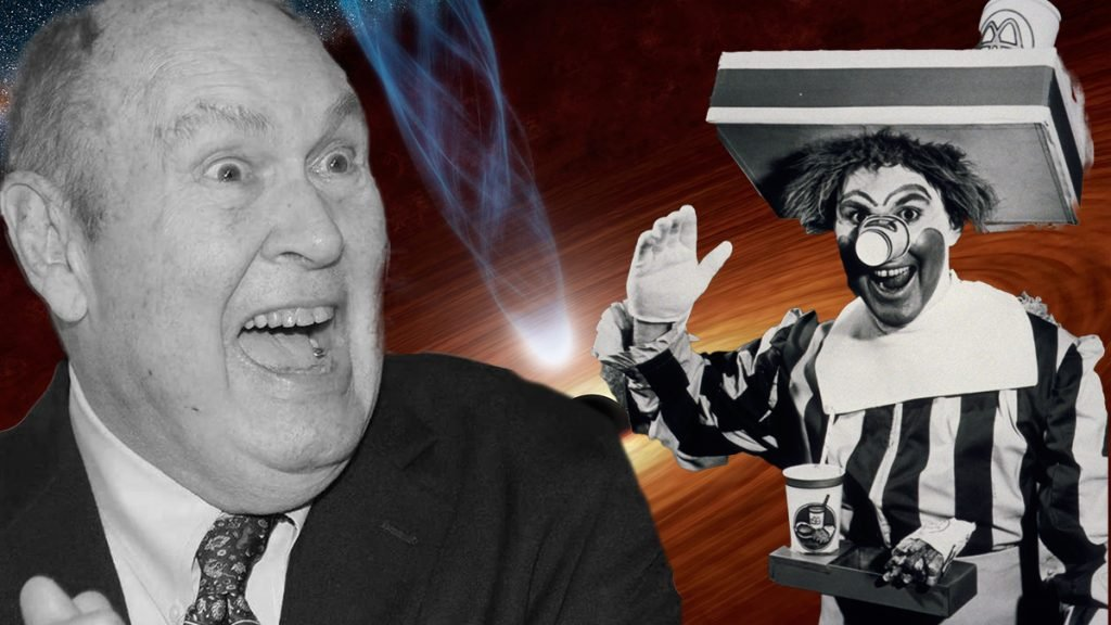 Willard Scott was discovered alive via gamma radiation from a distance Black Hole.
