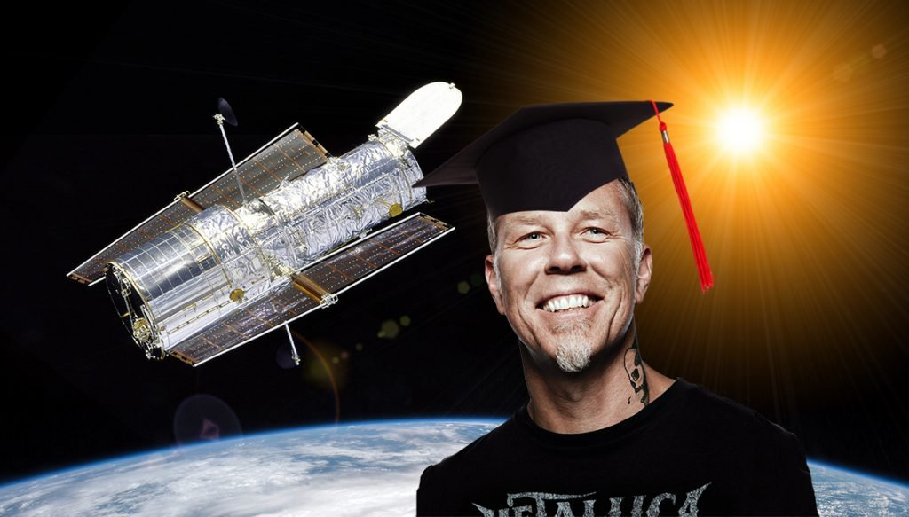 Dr. James Hetfield spent 12 years secretly studying astrophysics at CalTech.