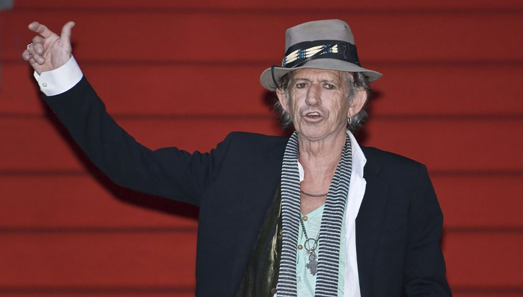 "Rolling Stones guitarist found alive in a San Francisco Hotel. ""Keith Richards Berlinale 2008"" by Siebbi"