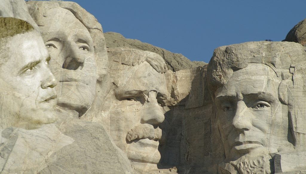 President Obama plans to insinuate himself on Mount Rushmore National Memorial