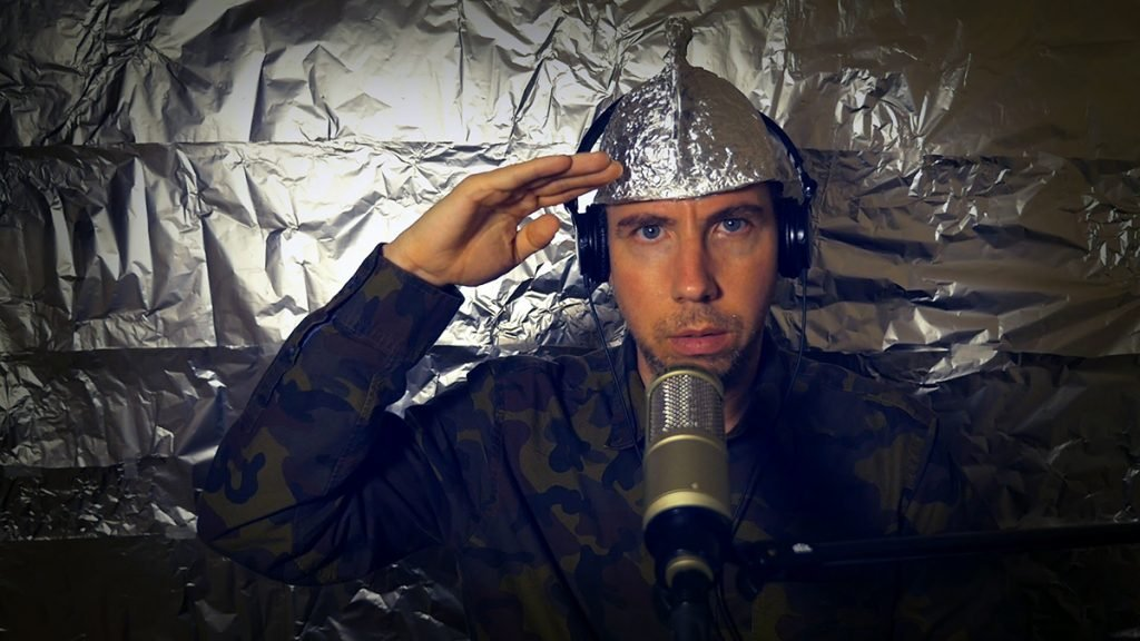 The Tin Foil Hat Society is in trouble.