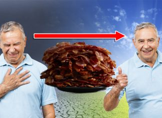 A 5 year study, co-sponsored by bacon processors, suggest that eating bacon can prevent heart attacks.