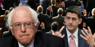 Unlike President Obama, The Republicans promise to not support President Bernie Sanders