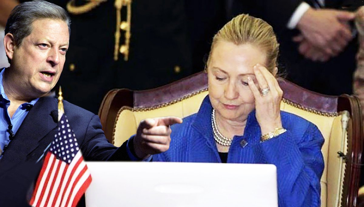 Al Gore's Internet lesson to Hillary didn't go well.