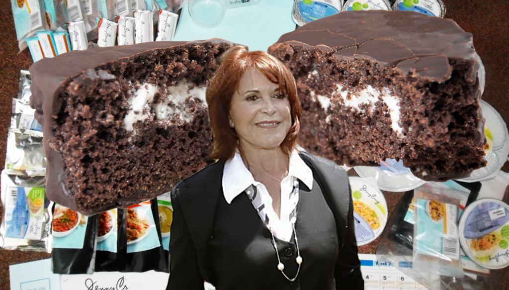 Weight loss guru Jenny Craig has died after ingesting a Ding Dong.