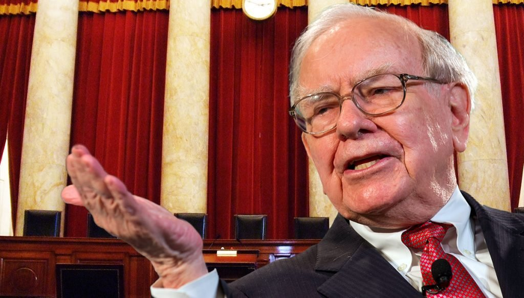 Justice Warren Buffett found dead from natural causes in his Omaha, Nebraska home.