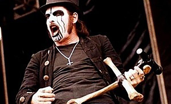 King Diamond, seen here giving whiny bitches something to cry about.