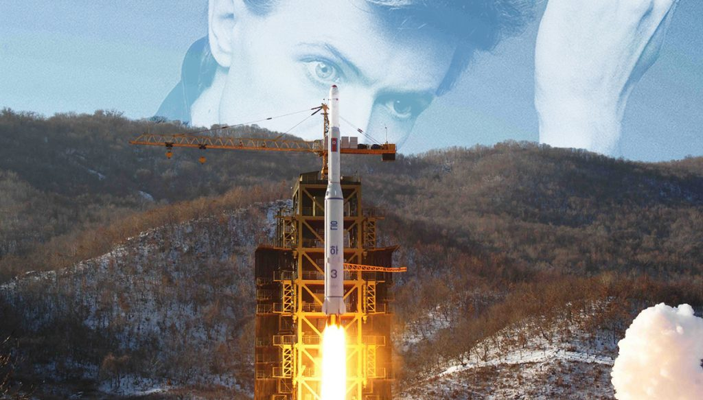 David Bowie's remains will travel on a North Korean rocket.