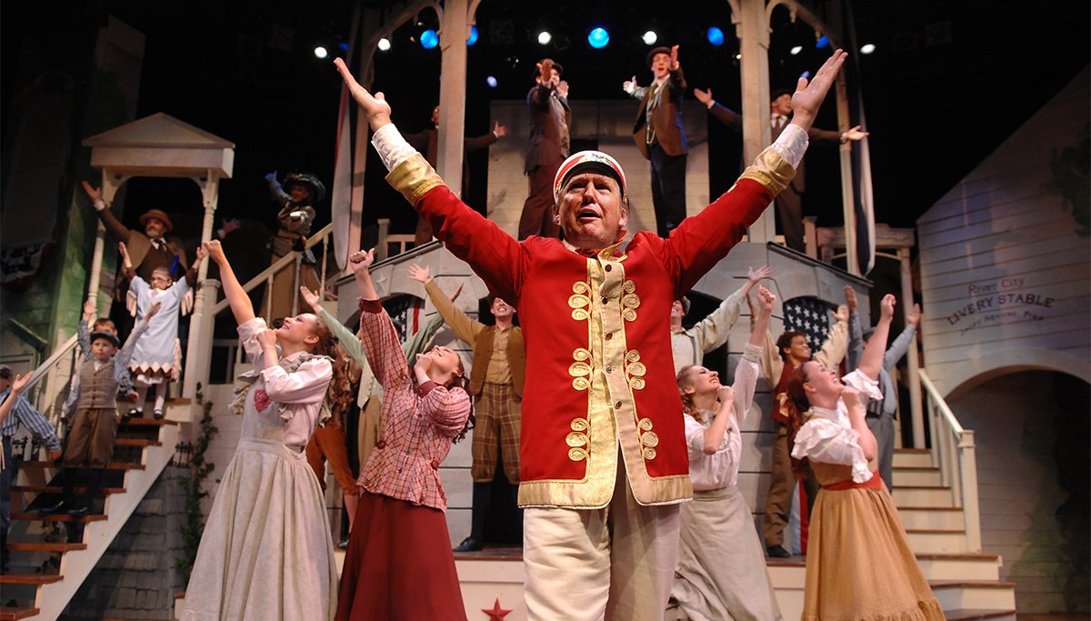Donald Trump to play Harold Hill in upcoming Broadway revival of the Music Man.