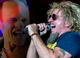 Veteran Red Rocker Sammy Hagar to font the summer tour of the David Lee Roth Band.