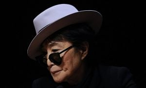 Yoko Ono in Gish Gallop Offices