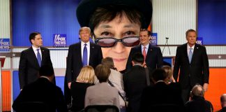 Yoko Ono Denies Breaking up the Republican Party