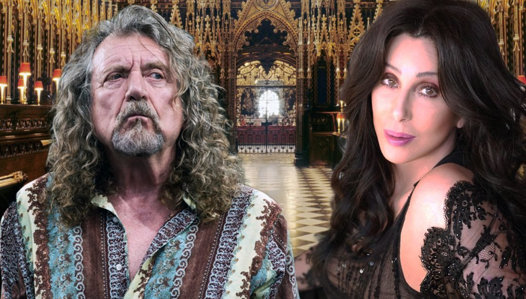 Cher and Rock icon Robert Plant have reserved the Westminster Abbey for their wedding on July 17th