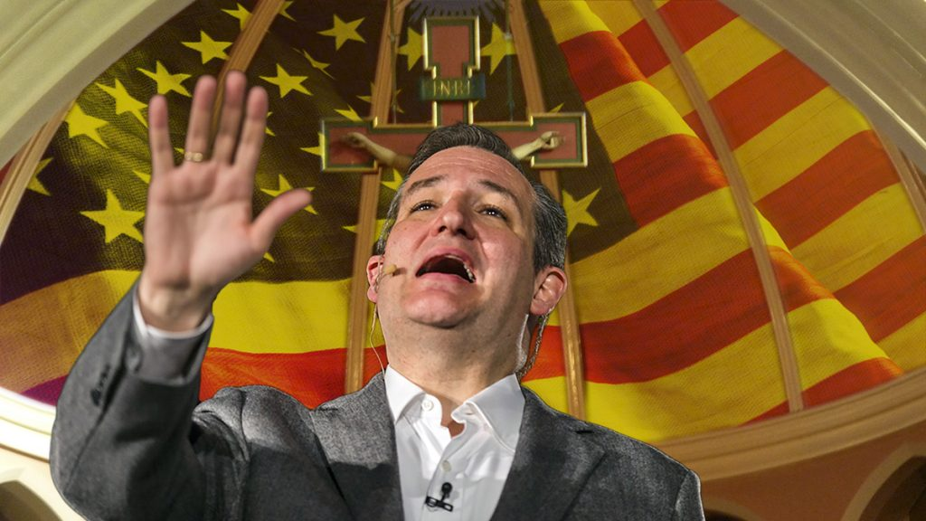Ted Cruz hinted at forming a splinter political party called the Conservative Christian Liberty Party or CCLP at an Indiana campaign stop.