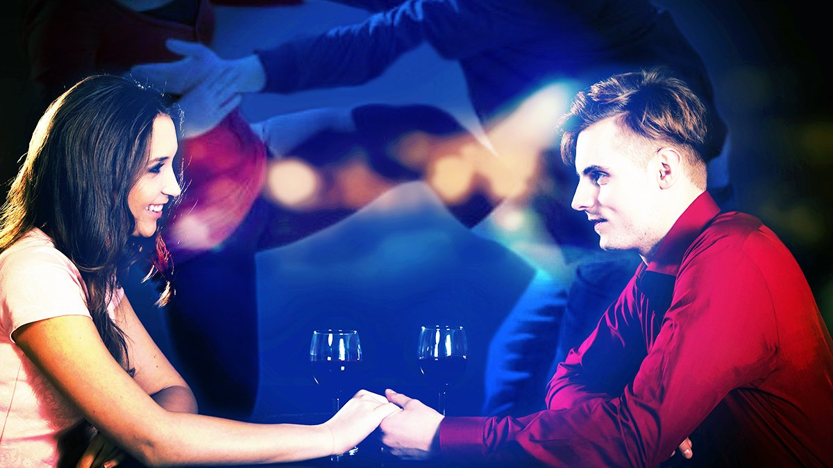 Is your date not getting the message? Help is just a push of a button away on your smart phone.