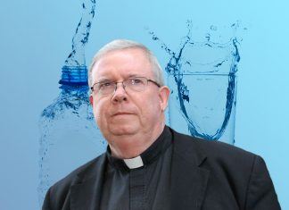 Monsignor William Lynn says Father O'Brien's condition might be due to fluoride in tap water.
